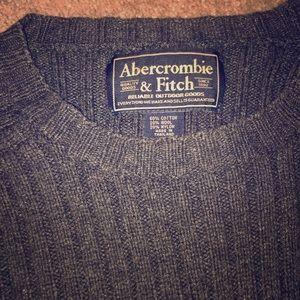 Abercrombie Ribbed Crew Neck Sweater